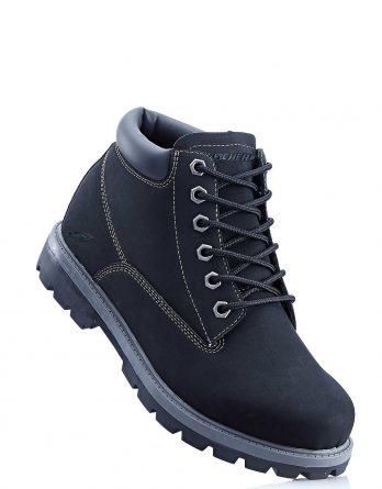 Kozaki sznurowane Sneakers bonprix czarny